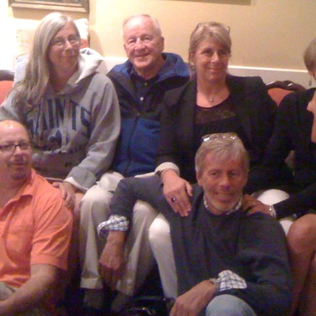 Dad w five sibs Dedham Mem care