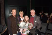 Franci Opening Night Mom & Dad