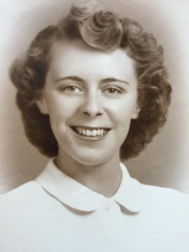 Mom Becker Grad portrait